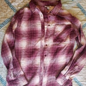 Arizona Jean Co plaid long sleeve